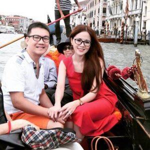 Vợ chồng chị Phương Hạnh