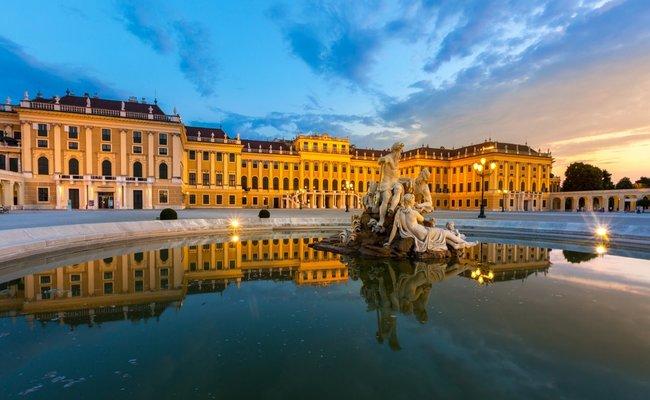du lịch áo - cung điện schonbrunn