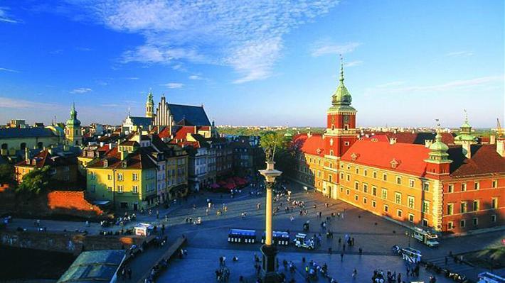 Khu phố cổ của Warszawa