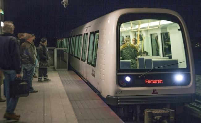 du lịch đan mạch - metro