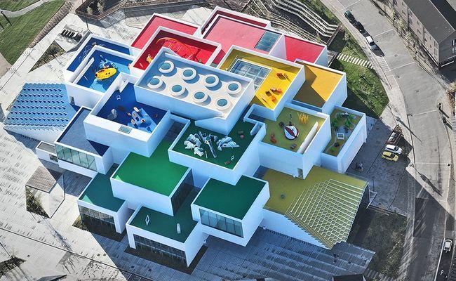 du lịch đan mạch - nhà lego