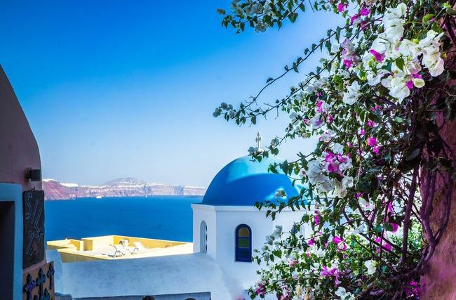 du lịch Hy Lạp vào mùa xuân