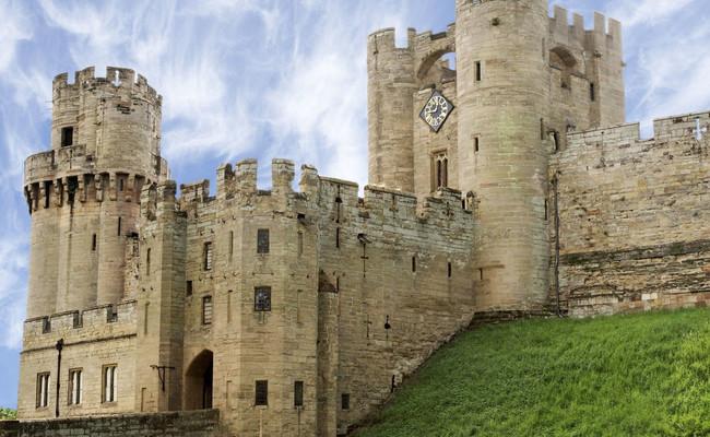 du lịch anh - lâu đài warwick