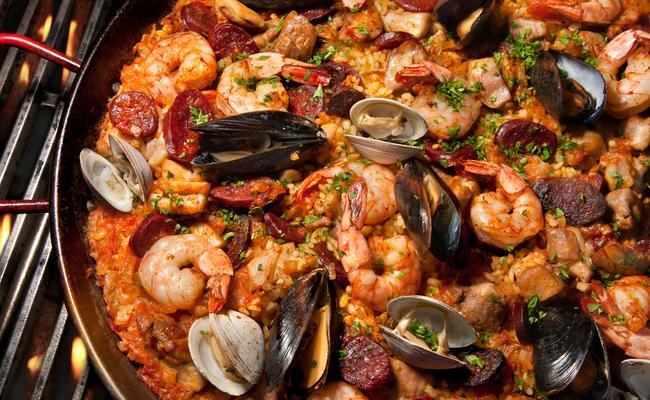du lịch tây ban nha - cơm paella