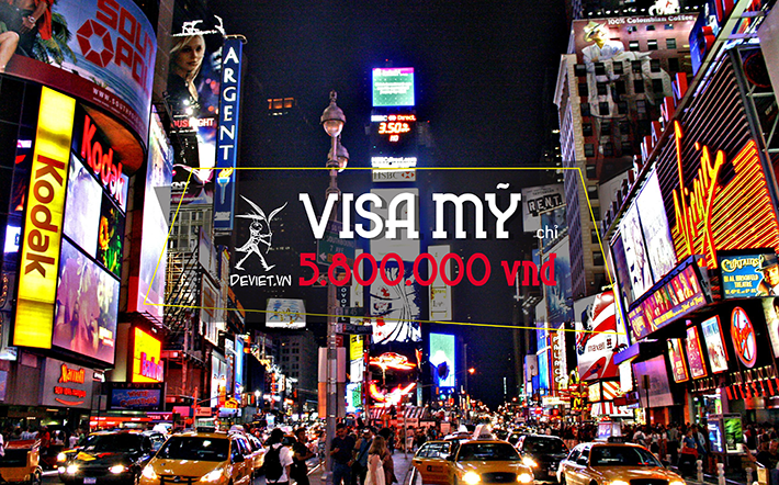 Dịch vụ làm visa đi Mỹ giá rẻ uy tín chuyên nghiệp - Dế Việt