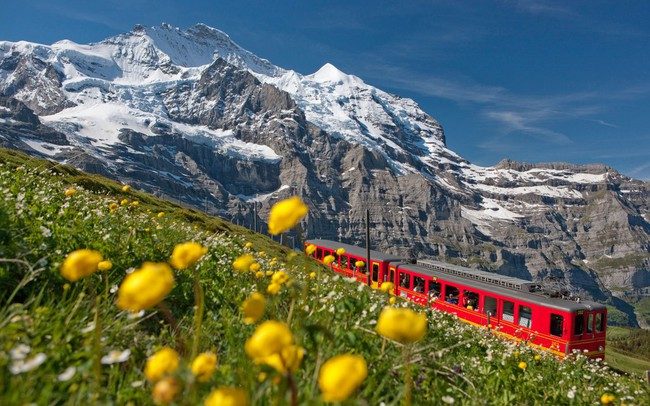 Du lịch Thụy Sĩ mùa nào đẹp nhất ?