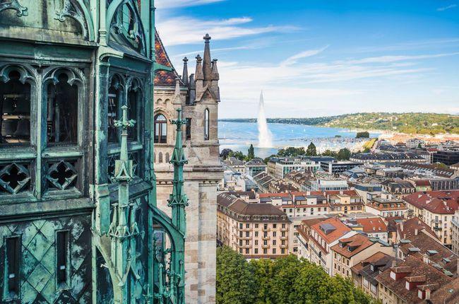 Geneva là một điểm đến thú vị trong chuyến du lịch Thụy Sĩ