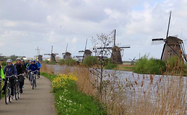 Ngôi làng nhỏ Kinderdijk