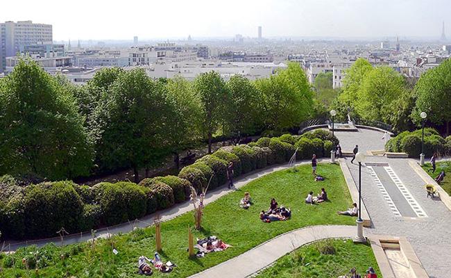Xem phim tại Parc de la Paris Villette