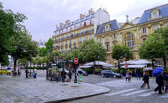 Khu vườn nổi tiếng ở Paris Luxembourg
