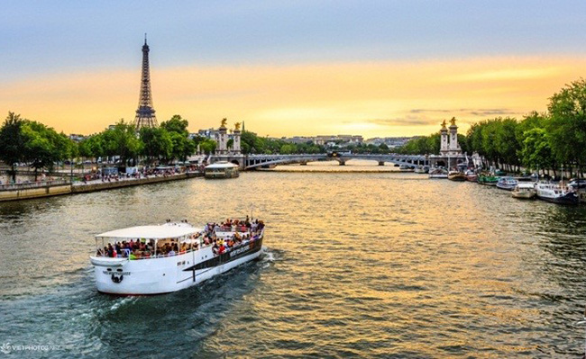 Sông Seine thơ mộng