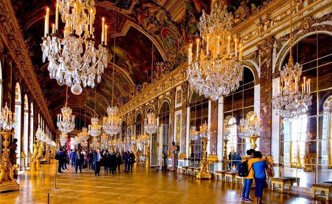 du lịch pháp cần bao nhiêu tiền - cung điện versailles