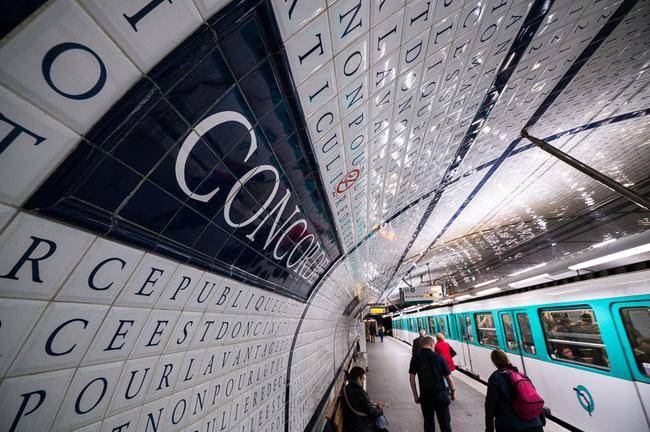 Ga tàu điện ngầm Concorde