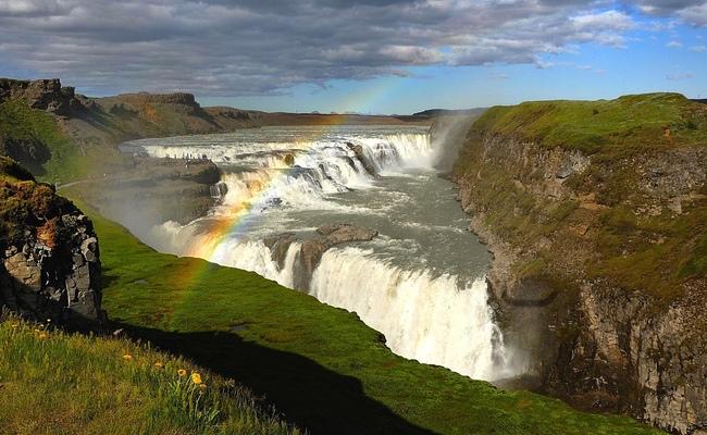 kinh nghiệm du lịch iceland - thác gullfoss