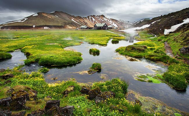 kinh nghiệm du lịch iceland - Landmannalaugar