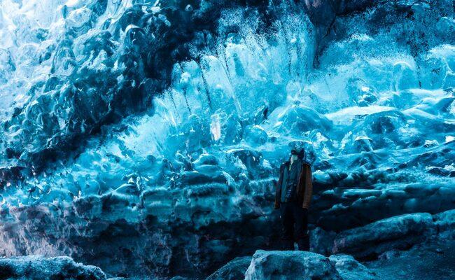 kinh nghiệm du lịch iceland - hang động băng skaftafell