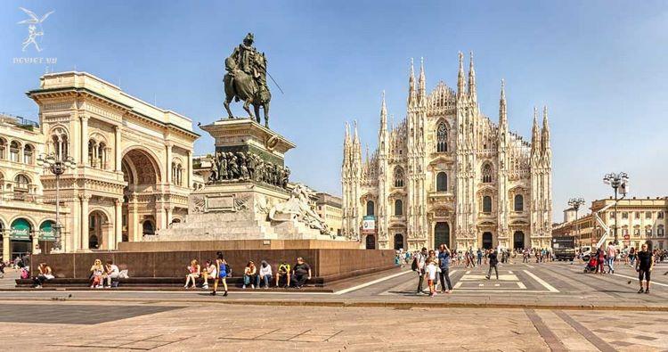il Duomo - Nhà Thờ Mi Lan