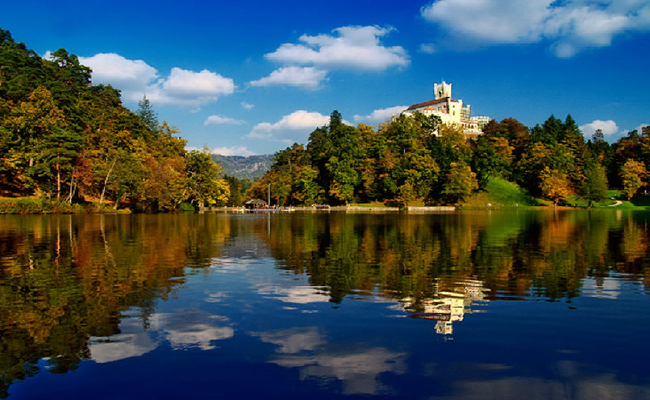 Lâu đài Trakoscan, miền Trung Croatia