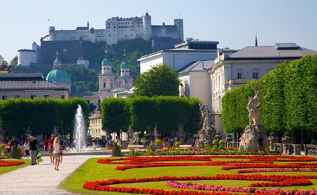 Cung điện Mirabell (Schloss Mirabell) - điểm du lịch ở Salzburg