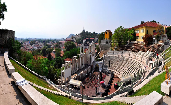 Phố cổ Plovdiv