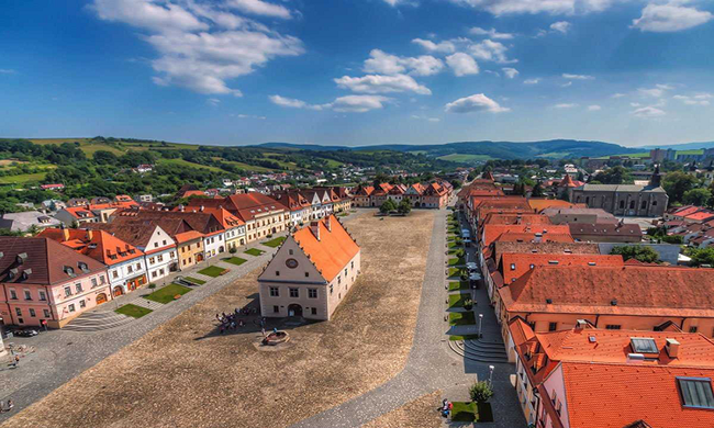 Thị trấn cổ Bardejov