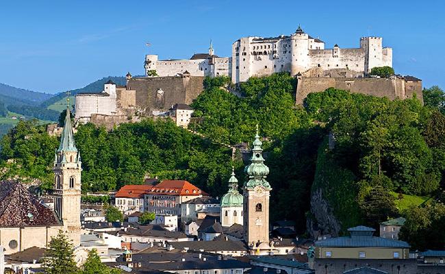 Lâu đài Hohensalzburg