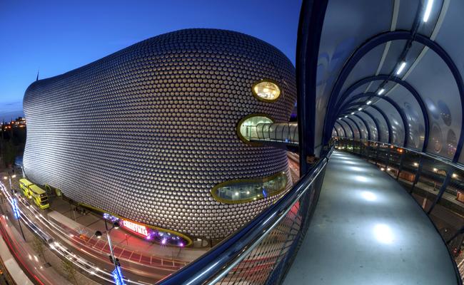 du lịch anh mua gì làm quà - khu mua sắm Bullring Birmingham