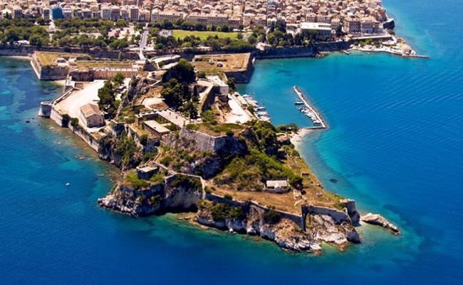 Corfu hay còn gọi là Kerkyra