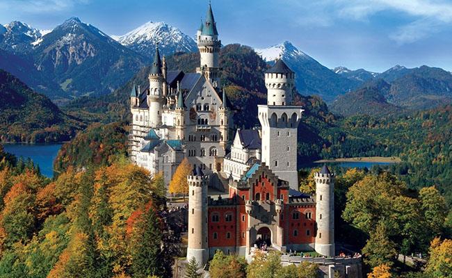 Những hình ảnh đẹp vềLâu đài Newschwanstein