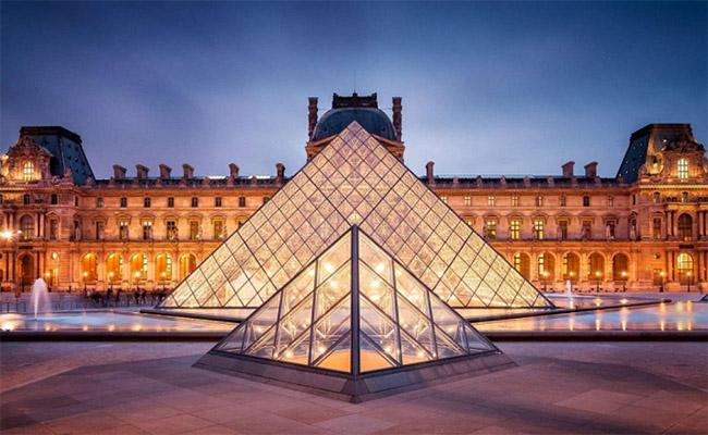Bảo tàng Louvre một trong những nơi tuyệt vời nhất tại Pháp