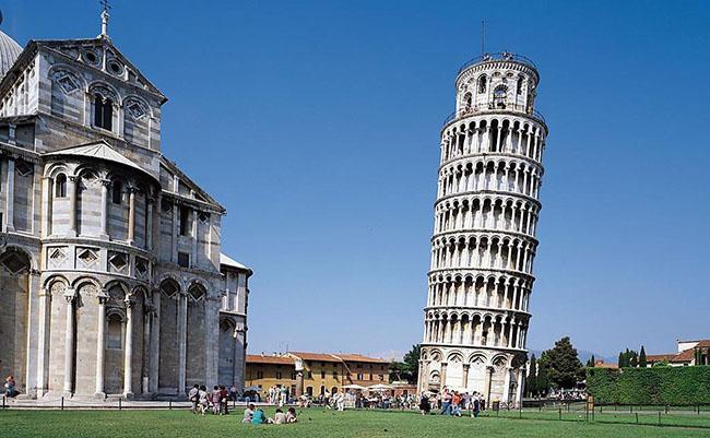 Hình ảnh tháp nghiêng Pisa