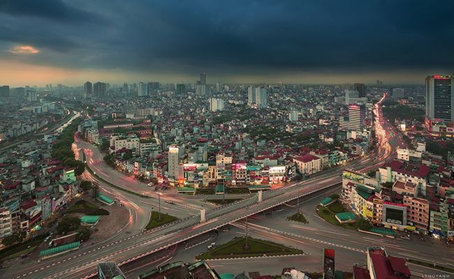 Kinh nghiệm chụp ảnh phong cảnh tuyệt đẹp thể loại Cityscape