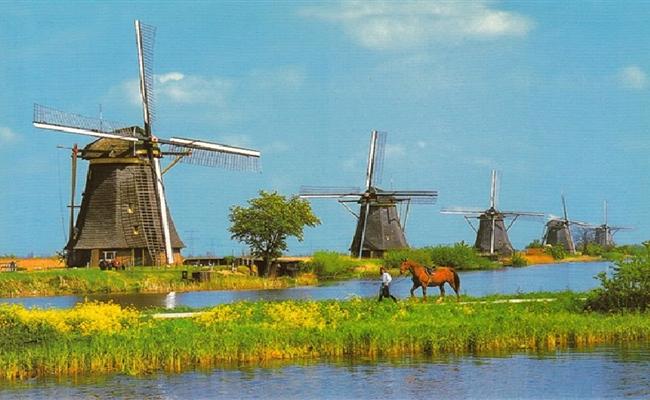Khám phá làng cối xay gió Hà Lan - Zaanse Schans