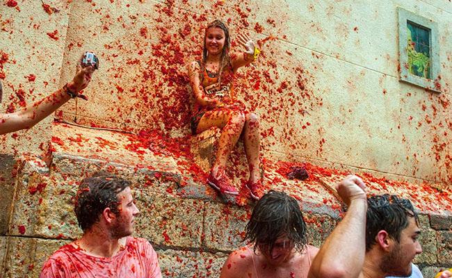 Khám phá lễ hội Cà chua Tây Ban Nha độc đáo có một không hai
