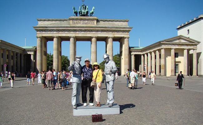Cổng thành Brandenburg nơi ghi dấu thăng trầm lịch sử