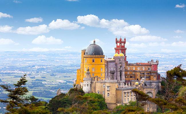 Cung điện Pena,Sintra (Lisbon) - Bồ Đào Nha