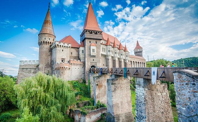 Lâu đài Corvin,Hunedoara - Rumani