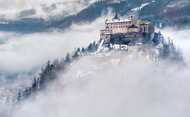 Lâu đài Hohenwerfen,Werfen - Áo