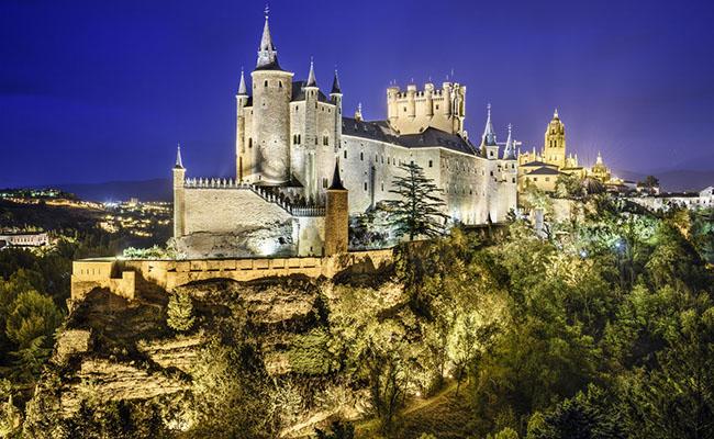 Lâu đài Alcazar,Segovia - Tây Ban Nha
