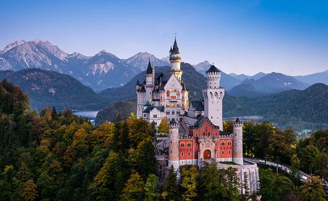 Lâu đài Neuschwanstein,Bavaria - Đức