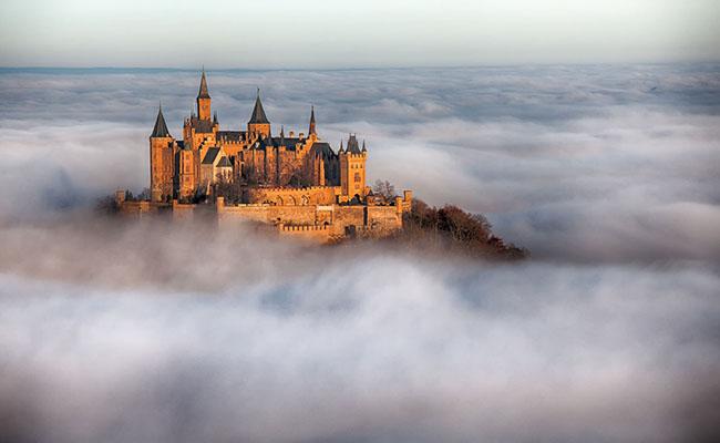 Lâu đài Hohenzollern,Baden-Württemberg - Đức