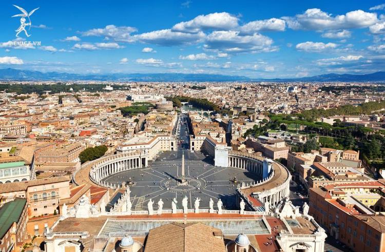 Quảng trường St. Peter's - Vatican