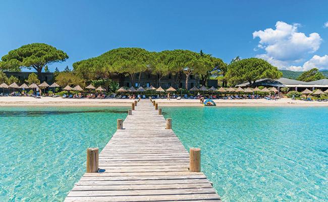Bãi biển Santa Giulia,Corsica