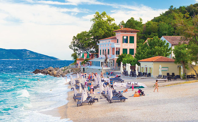 Bãi biển Moscenicka Draga, Croatia