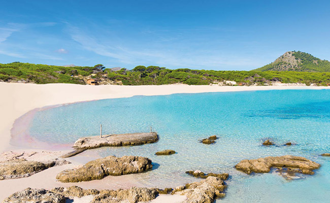 Bãi biển Cala Agulla,Mallorca - Tây Ban Nha