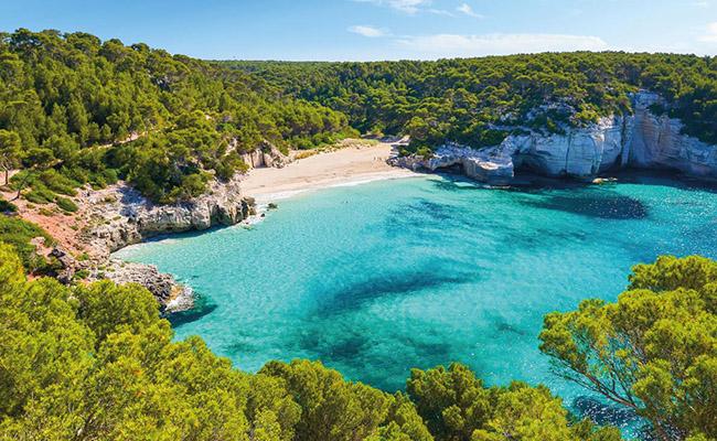 Bãi biển Mitjaneta,Menorca - Tây Ban Nha