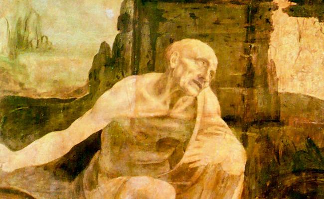 Bức họa Thánh Jerome trong vùng hoang dã