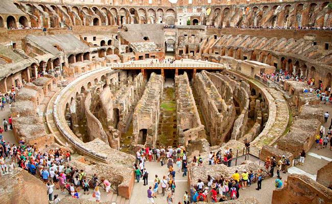 Những điều thú vị bạn nên biết về đấu trường La Mã tại Rome