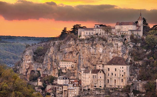 Rocamadour,Thung lũng Dordogne - Pháp