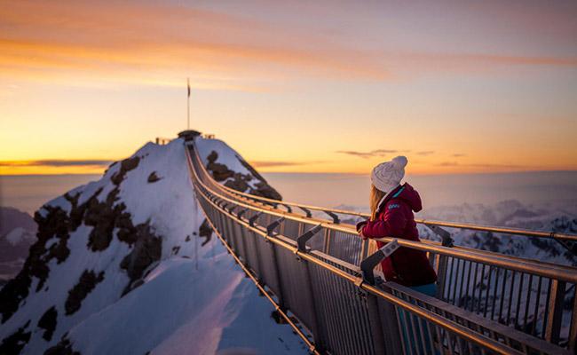 Những địa điểm ngắm tuyết đẹp nhất Châu Âu